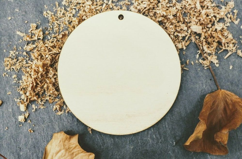 Single Laser 4mm Plywood Round Shape